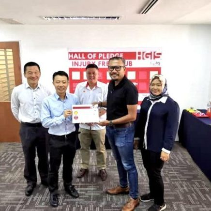 HGIS Injury Free Club (IFC) part of Work Safe, Home Safe Program