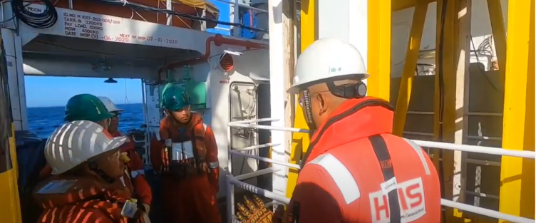 A Day at Offshore Brunei onboard Amarco Rintis